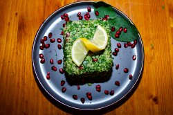 Salată tabouleh arabic image