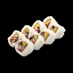 Eel and avocado Maki