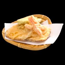 Mini vegetable tempura