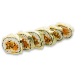 Spicy Salmon Tempura Maki