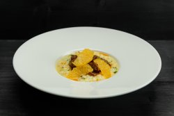 Risotto with orange & duck cracklings (250g) image