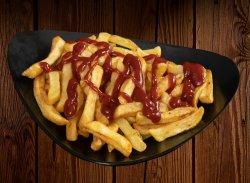 Cartofi prăjiți cu ketchup image
