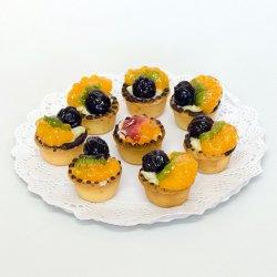 Mini tartă cu fructe