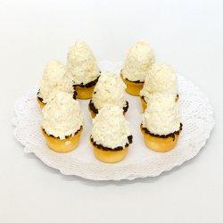 Mini tartă cu caramel