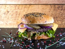 Jucy Lucy burger image