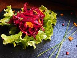 Salată de sfeclă fresh cu lime și portocală image