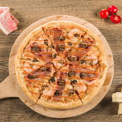 1+1  Pizza Surf & turf 30 cm image