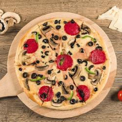 1+1  Pizza Quattro stagioni 30 cm image