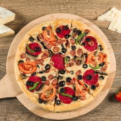 1+1  Pizza Rustică 45 cm  image
