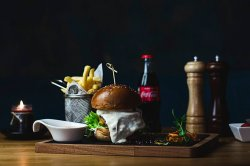 Kraft burger