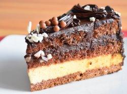 Felii tort ciocolată șI vanilie image