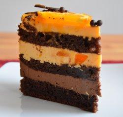 Felii tort portocale image