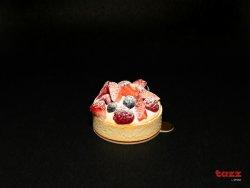 Tartă cu vanilie și fructe de pădure image