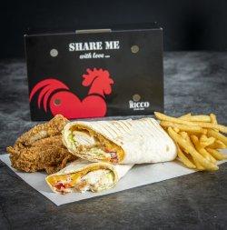 Smart Box chicken ranch wrap  image