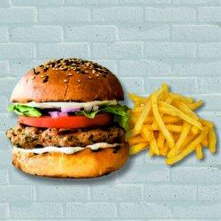 Grilled Chicken Burger  image