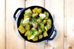 Coriander Potatoes image