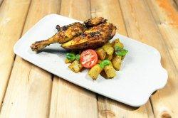 Baby chicken with batata hara 535 g image