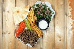 Beef Shawarma platter image