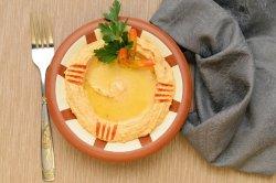Spicy hummus image