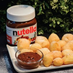 Gnocco fritto cu Nutella image