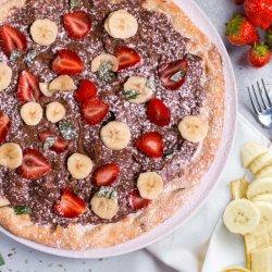 Pizza Nutella 33cm image