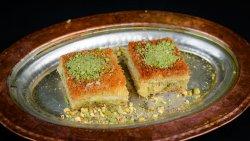 Kunafeh cu înghețată orientală image