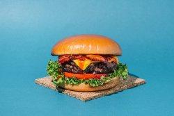 Bbq bacon cheeseburger image