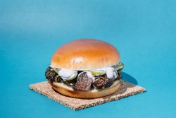 Beefy burger image