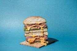 Lava cheeseburger image