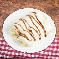 Clătite cu brânză de vaci și stafide image