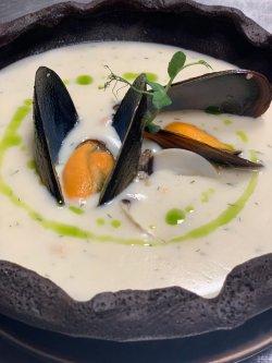 Supă cremă de pește image