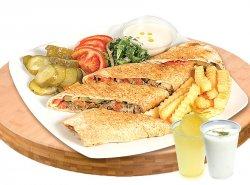 Meniu sandwich B-back de vită image
