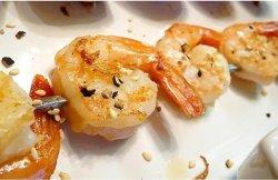 Shrimp yakitori