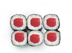 Tuna maki 6 pieces image