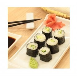 Cucumber maki 6 pieces image