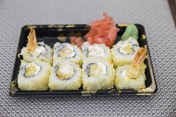 Shrimp Philadephia maki 8 pieces image