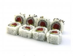 Tuna avocado maki 8 pieces image