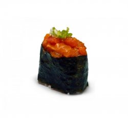 Gunkan spicy salmon 1 piece image