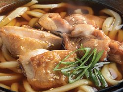 Chicken udon soup image