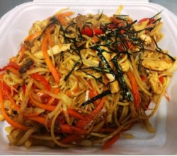 Chicken yakisoba image