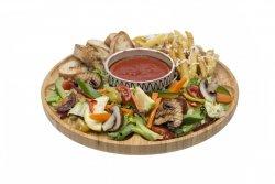 Platou RO dog Vegetarian / Cu omletă image
