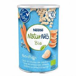 Nutripuffs Naturnes Bio Cereale si morcov x 35g image
