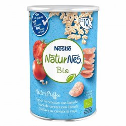 Nutripuffs Naturnes Bio Cereale si rosii x 35g image