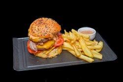 Boxenstopp Burger image