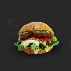 Burger ,,Ăla Italian `` image