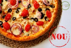 Pizza Pollo Fresco 40 cm image