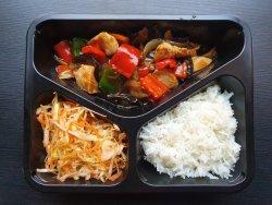 Meniu Pui Kung Pao + Sup Ga