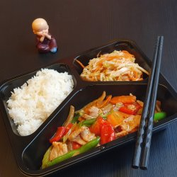 Meniu Porc cu legume + Sup Ga image