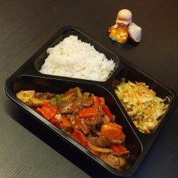 Meniu Vită în sos picant + Sup Ga image