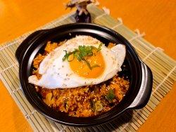 Com rang kim chi (orez prăjit cu kim chi) image